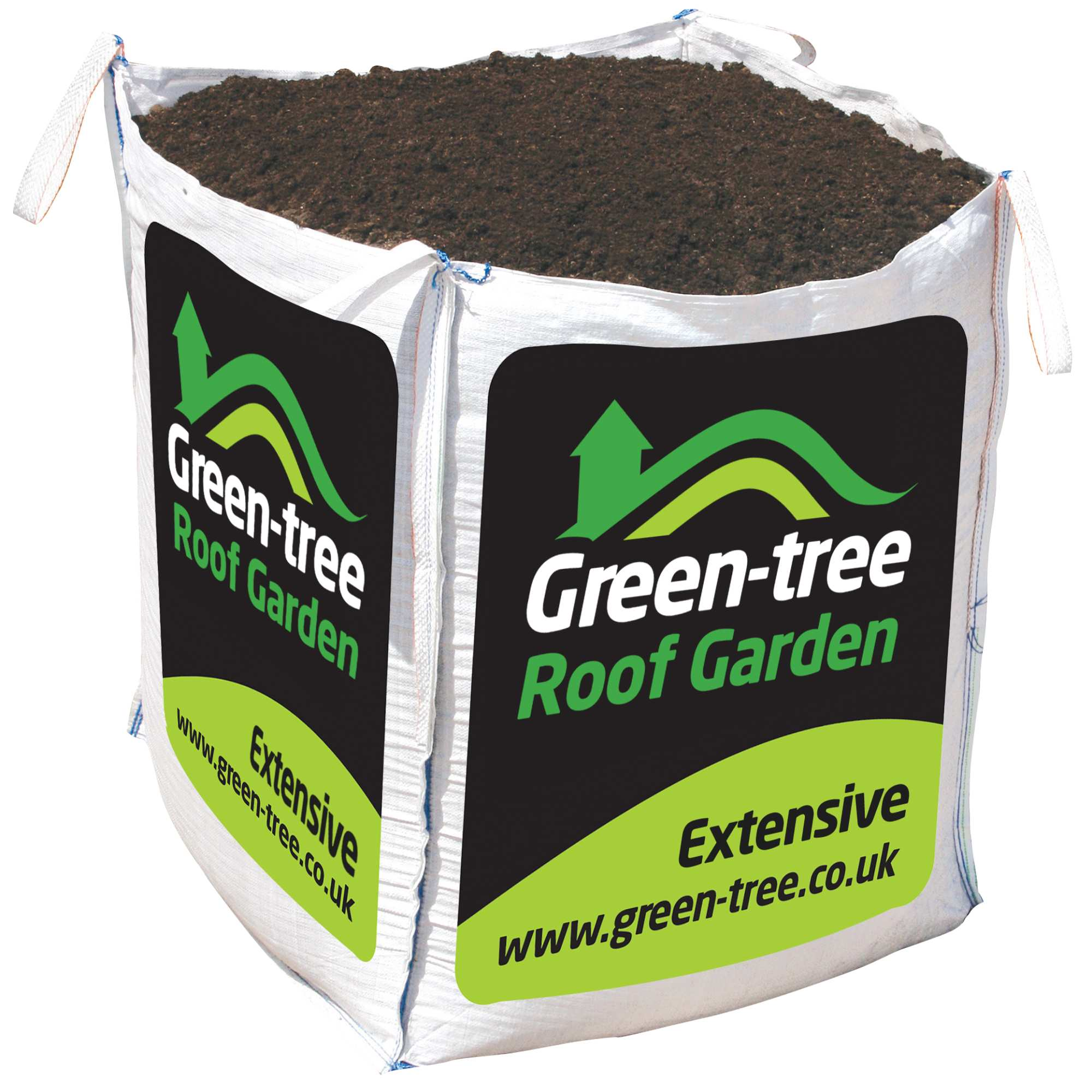 Green Tree Extensive Roof Garden Substrate Green Roof