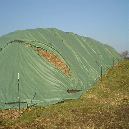 Toptex Crop Wood And Compost Storage Cover Agricultural
